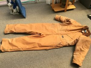 Coveralls 2 x heavy duty insulated