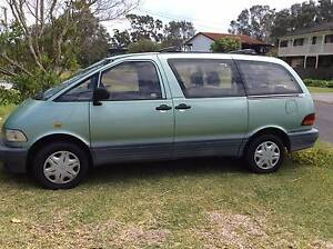 1998 Toyota Tarago Wagon Lemon Tree Passage Port Stephens Area Preview