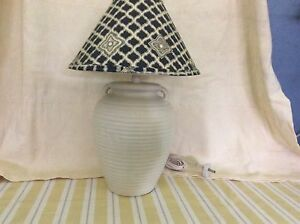 Cream urn shaped bade with Sheridan Shade in great condition East Kurrajong Hawkesbury Area Preview