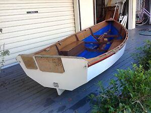 """Sailing Dinghy with sail rig 11Ft 8"""" Lota Brisbane South East Preview"""