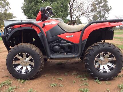 Suzuki Kingquad 750axi