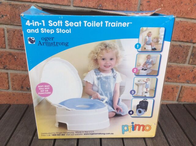 Miraculous Kids Soft Seat Toilet Trainer Step Stool 4 In 1 Machost Co Dining Chair Design Ideas Machostcouk