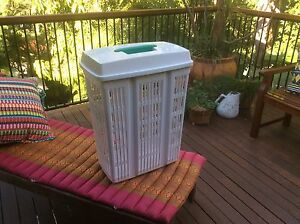 Sabco plastic laundry hamper Indooroopilly Brisbane South West Preview