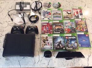 Xbox 360 with games and add-ons
