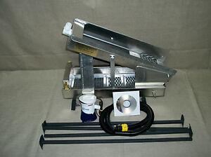 #58 highbanker recirculating sluice  panning gold [With 12VDC 800pgh Pump]