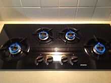 4 burner gas black glass cooktop 98cm Grafton Clarence Valley Preview