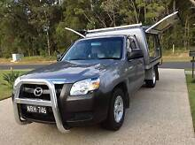 2008 Mazda BT50 Ute with canopy -  2.5 ltr Turbo Diesel - Manual Moonee Beach Coffs Harbour City Preview