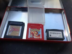 Zelda & Pokemon Gameboy Games & Final Fantasy Gameboy Advanced