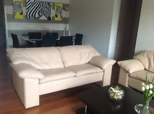 Nick Scali genuine leather sofas Sans Souci Rockdale Area Preview