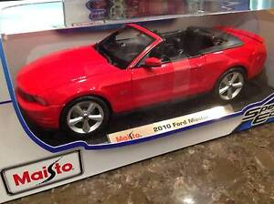 DIECAST CAR - 2010 FORD MUSTANG GT - RED Thornleigh Hornsby Area Preview