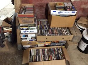 Lots of cds