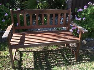 Wooden Outdoor Bench Seat Good Condtion North Albury Albury Area Preview