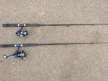FISHING RODS AND REELS. South Hobart Hobart City Preview