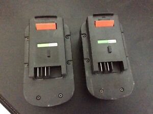 2 18v black and decker batteries