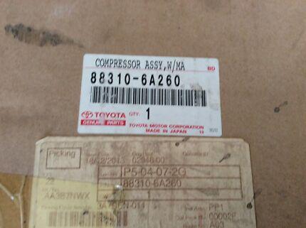 Toyota Landcruiser V8 A/C compressor
