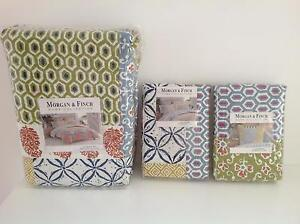 Morgan & Finch Single Quilt Cover, Std & Euro Sized Pillowshams Canada Bay Canada Bay Area Preview