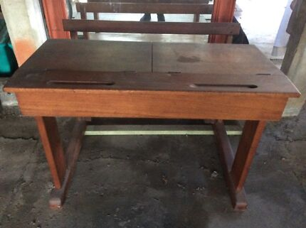 Antique student desk - Antique Desk Desks Gumtree Australia Brisbane South West