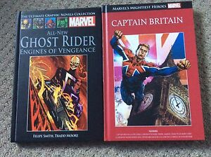 Marvel hardcover graphic novels Ghost Rider Captain Britain NEW UNREAD Margate Redcliffe Area Preview