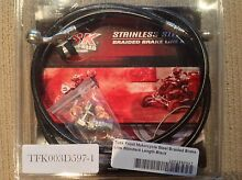 2008 KLR Tusk Front and Rear Braided brake lines Ellenbrook Swan Area Preview
