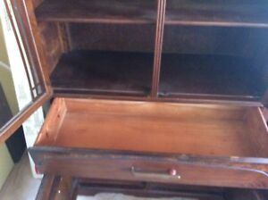 Antique Armoire and China Hutch