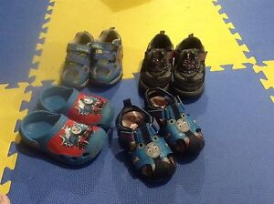 Assorted boys shoes