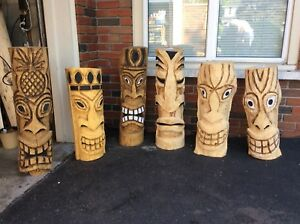 Tropical Tiki Carvings
