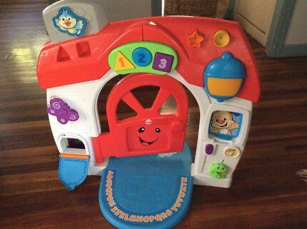 Play door fisher price & 3 babyu0027s toys. Fisher price door. Car. Trolley | Toys - Indoor ... pezcame.com