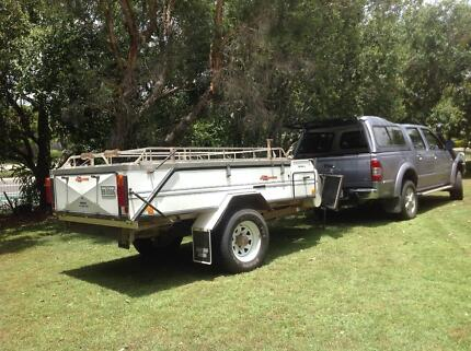 2001 Aussie Swag Rover LX camper trailer Eatons Hill Pine Rivers Area Preview