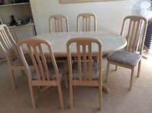 Dining table with 6 chairs Hastings Mornington Peninsula Preview