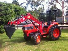 Daedong Tractor Front End Loader Low Hrs Slasher Delivery 200ks Kangaroo Valley Shoalhaven Area Preview