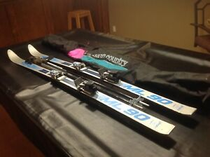 2 sets Downhill skis