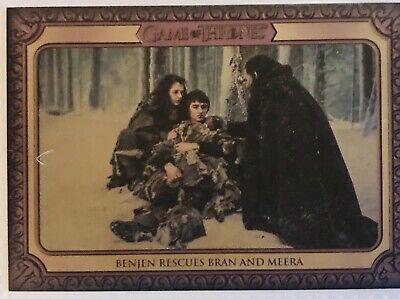 Game Of Thrones 2019 Inflexions Benjen Rescues Bran & Meera #112 Base card. New