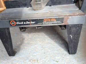 Black and Decker router table for Sale