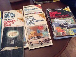 Auto mechanics repair books