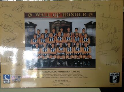 Collingwood football club 1990 premiers print Lalor Whittlesea Area Preview