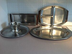 Stainless Steel Serving Ware
