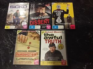 Michael Moore DVD's documentary movies Craigieburn Hume Area Preview