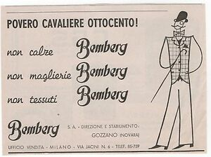 Pubblicita-epoca-BEMBERG-ABITI-UOMO-DRESS-MAN-advert-werbung-publicite-reklame