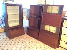DISPLAY STORAGE WALL CABINETS Cleveland Redland Area Preview