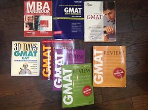 Used  assorted GMAT Prep Books