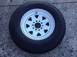 Tyre with rim Narre Warren Casey Area Preview
