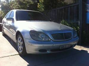 2001 Mercedes-Benz S430 L W220 Luxury V8 Auto Fully optioned Woodbine Campbelltown Area Preview