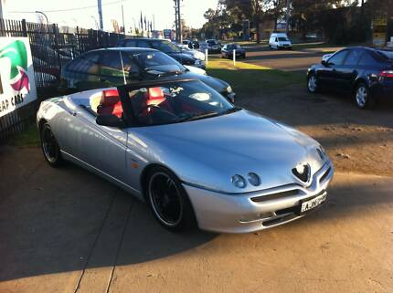 2002 Alfa Romeo Spider Convertible Low KM,s Long Rego Spectacular Woodbine Campbelltown Area Preview