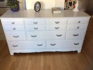 Dresser refurbished.Firm price. Nightstands available