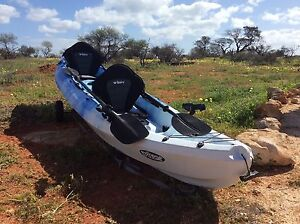 2.5 seat kayak Hamelin Pool Shark Bay Preview