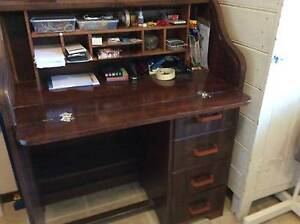 Vintage Roll Topped Desk Greenwood Joondalup Area Preview