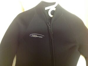 Wetsuit Mens 7mm Neosport Farmer John and Jacket