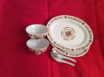 Chinese dinner setting for 2 & Eagle Nest Chinese Dinnerware Set | Dinnerware | Gumtree Australia ...