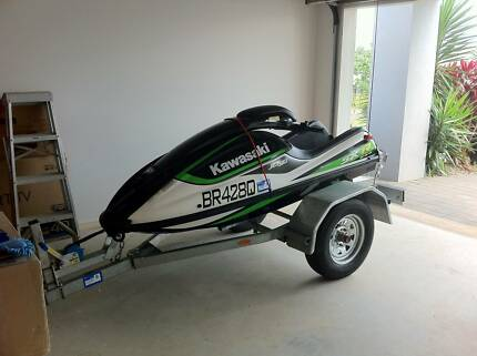 Kawasaki SXR800 Stand Up Jet Ski & Trailer - MAKE AN OFFER Ascot Brisbane North East Preview