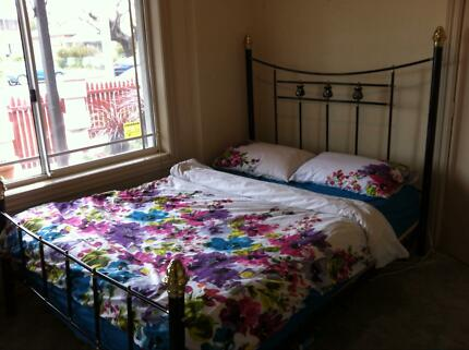 Queen Size Bed Frame and Queen Size Mattress - $250 ono Wagga Wagga 2650 Wagga Wagga City Preview